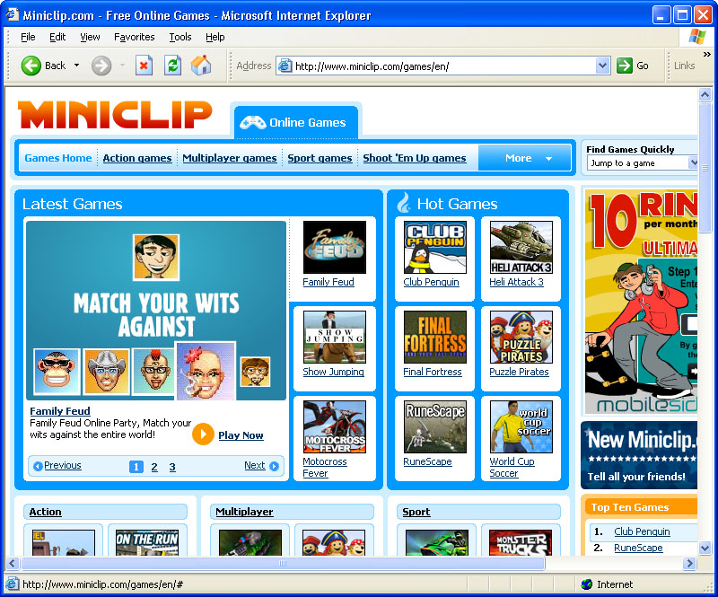 Procurement times for provisioning hardware severely limited Miniclip's ability to get games to players quickly. Each time the company deployed a new game, it took four weeks—and launching it took another five days. Time to market is crucial for Miniclip.